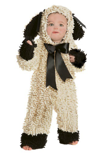 Toddler Wooly Lamb Costume