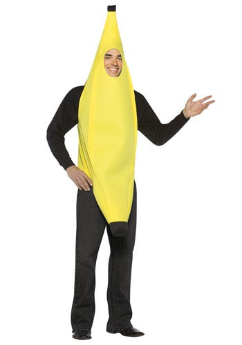 Click Here to buy Adult Banana Costume from HalloweenCostumes, CDN Funds & Shipping