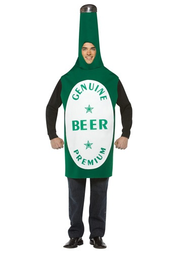 Click Here to buy Beer Bottle Costume from HalloweenCostumes, CDN Funds & Shipping