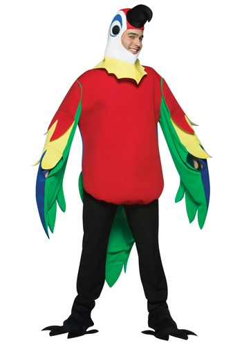 Click Here to buy Adult Parrot Costume from HalloweenCostumes, CDN Funds & Shipping