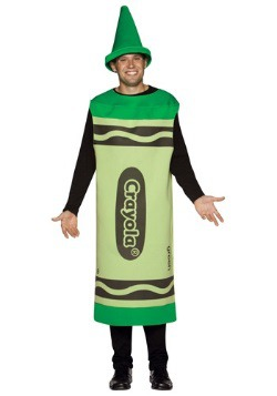 Adult Green Crayon Costume