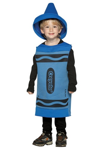Toddler Blue Crayon Costume