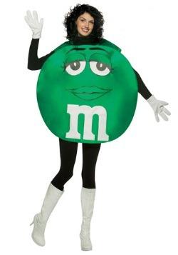 Green M&M Costume