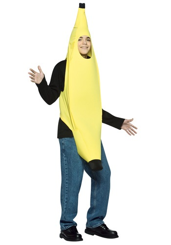 Click Here to buy Teen Banana Costume - Funny Halloween Costumes for Teens from HalloweenCostumes, CDN Funds & Shipping