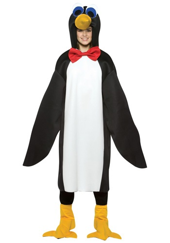 Teen Penguin Costume | Teen Animal Halloween Costume