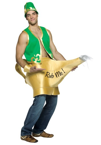 Click Here to buy Genie and Magic Lamp Costume from HalloweenCostumes, CDN Funds & Shipping