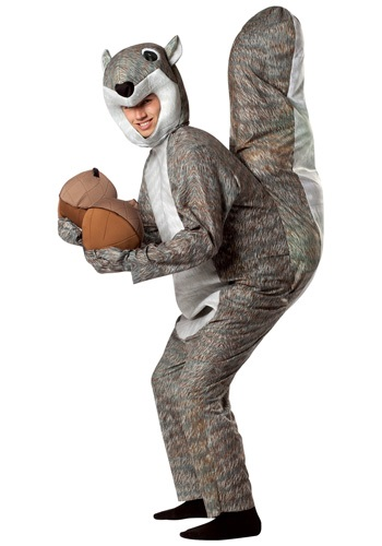 Adult Squirrel Costume - Funny Animal Halloween Costumes for Adults