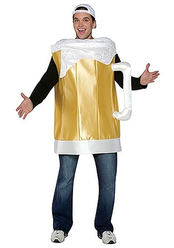 Click Here to buy Beer Mug Costume from HalloweenCostumes, CDN Funds & Shipping
