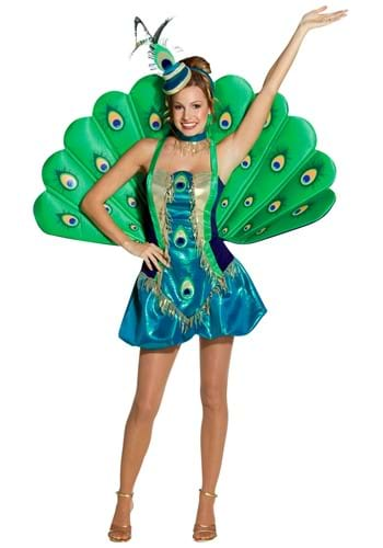 Click Here to buy Womens Peacock Costume from HalloweenCostumes, CDN Funds & Shipping