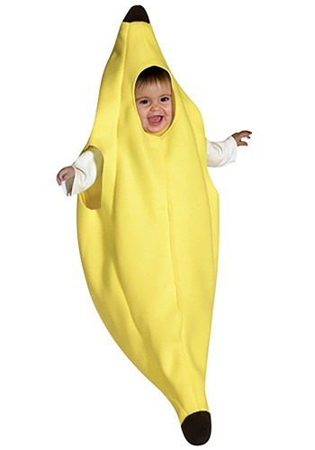 Click Here to buy Baby Banana Bunting Costume from HalloweenCostumes, CDN Funds