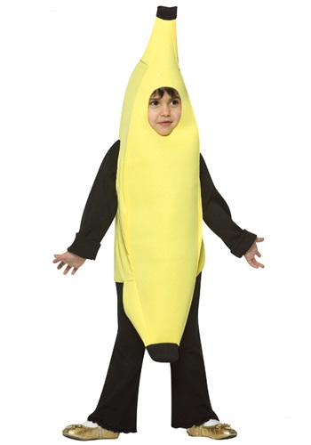 Toddler Banana Costume