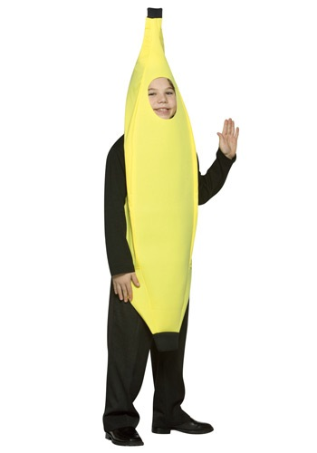 Click Here to buy Kids Banana Costume from HalloweenCostumes, CDN Funds