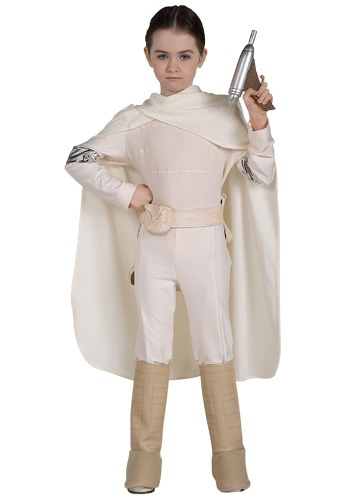 Click Here to buy Kids Deluxe Padme Costume from HalloweenCostumes, CDN Funds & Shipping