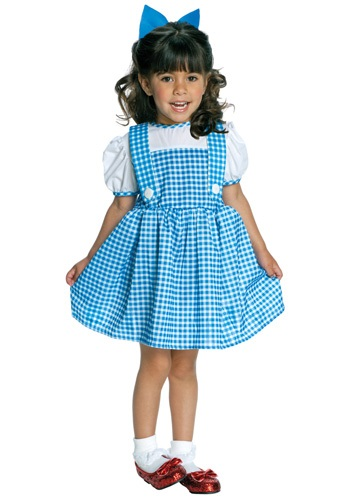 Click Here to buy Tiny Tikes Dorothy Costume from HalloweenCostumes, CDN Funds & Shipping