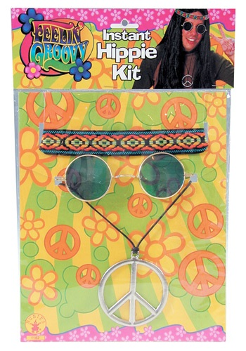 Click Here to buy Mens 1960s Accessory Kit from HalloweenCostumes, CDN Funds & Shipping