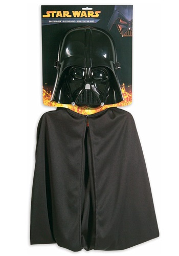 Click Here to buy Kids Darth Vader Mask and Cape from HalloweenCostumes, CDN Funds & Shipping