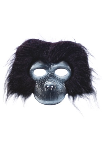 Plush Gorilla Costume Mask