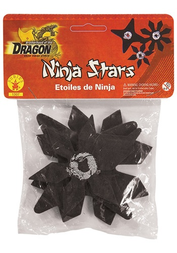 Click Here to buy Black Ninja Stars from HalloweenCostumes, CDN Funds & Shipping