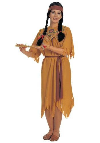 Click Here to buy Pocahontas Costume from HalloweenCostumes, CDN Funds & Shipping