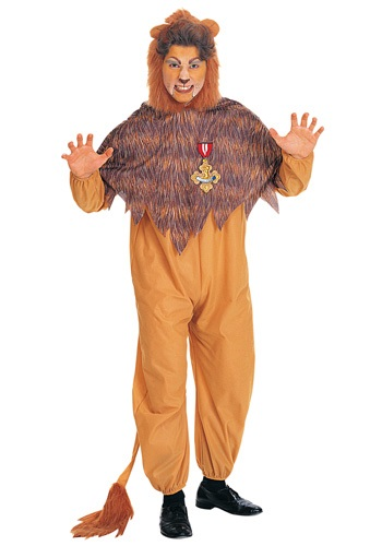 Click Here to buy Adult Cowardly Lion Costume from HalloweenCostumes, CDN Funds & Shipping