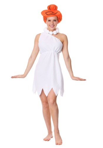Click Here to buy Wilma Flintstone Adult Costume from HalloweenCostumes, CDN Funds & Shipping