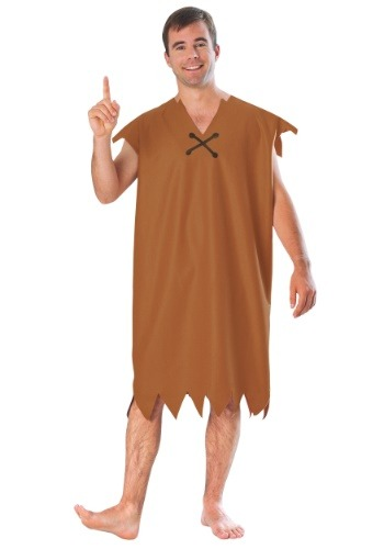 Barney Rubble Adult Size Costume - Adult Flintstones Costumes