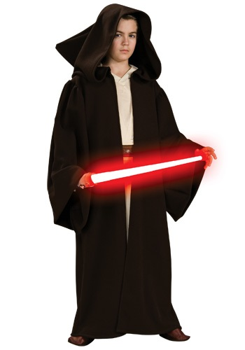 Click Here to buy Kids Deluxe Sith Robe - Star Wars Kids Halloween Costumes from HalloweenCostumes, CDN Funds & Shipping