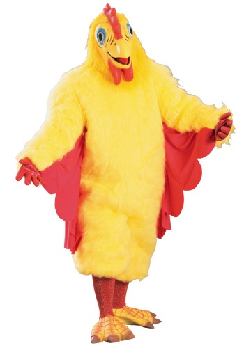 Adult Mascot Chicken Costume | Chicken Costume | Fur Jumpsuit