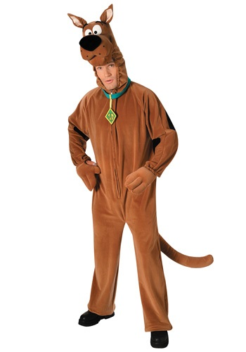 Deluxe Adult Scooby Doo Costume | Cartoon Character Costume