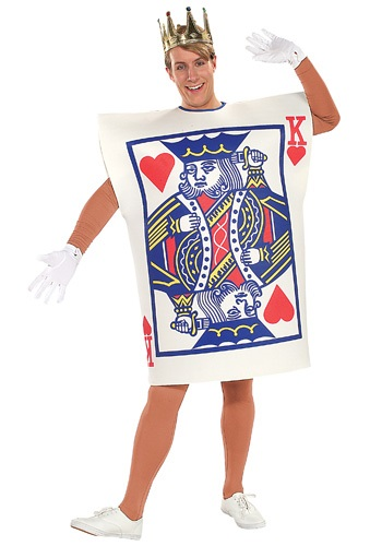 Click Here to buy King of Hearts Card Costume from HalloweenCostumes, CDN Funds & Shipping