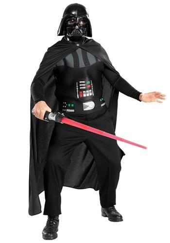 Click Here to buy Darth Vader Adult Costume from HalloweenCostumes, CDN Funds & Shipping