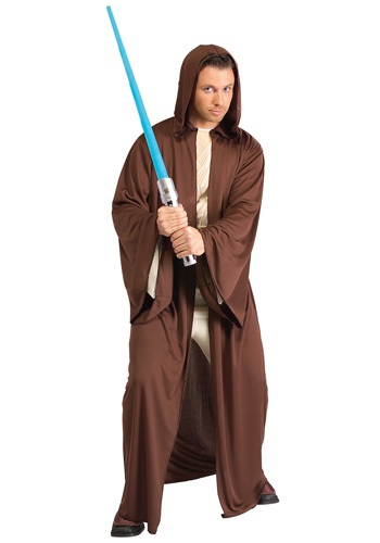 Click Here to buy Jedi Robe Costume from HalloweenCostumes, CDN Funds & Shipping