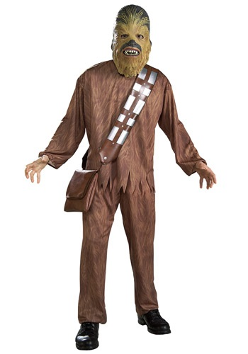 Click Here to buy Chewbacca Adult Costume from HalloweenCostumes, CDN Funds & Shipping
