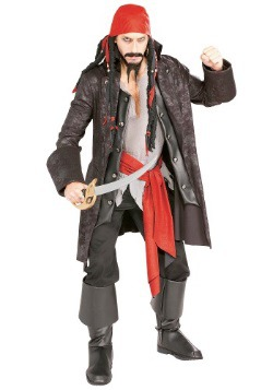 Adult Captain Cutthroat Pirate Costume