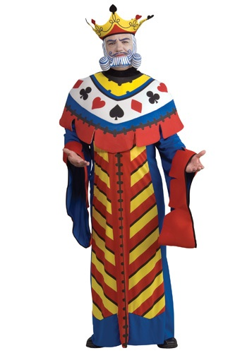 Click Here to buy King of Hearts Playing Card Costume from HalloweenCostumes, CDN Funds & Shipping