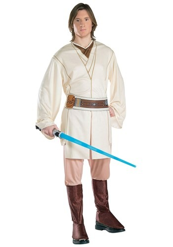 Young Obi-Wan Kenobi Adult Size Costume for Men
