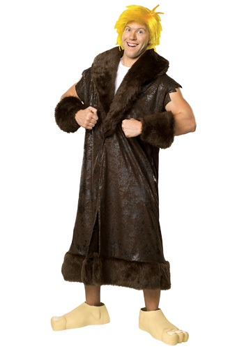 Click Here to buy Adult Deluxe Barney Rubble Costume from HalloweenCostumes, CDN Funds & Shipping