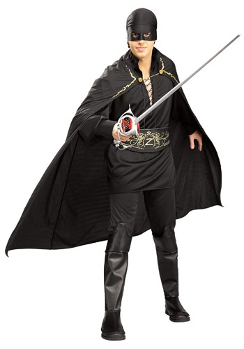 Click Here to buy Mens Zorro Costume from HalloweenCostumes, CDN Funds & Shipping