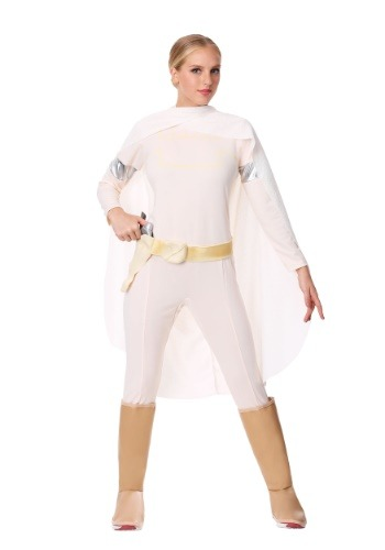 Click Here to buy Deluxe Padme Amidala Costume from HalloweenCostumes, CDN Funds & Shipping