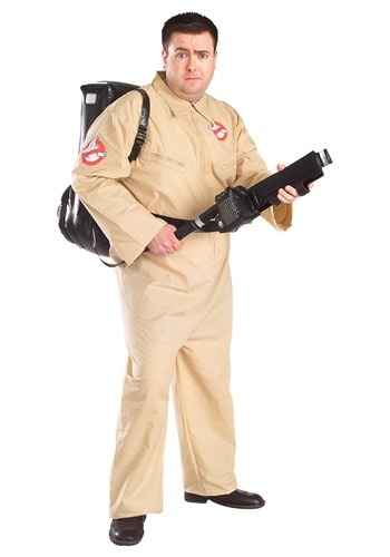 Click Here to buy Ghostbusters Plus Size Costume from HalloweenCostumes, CDN Funds & Shipping