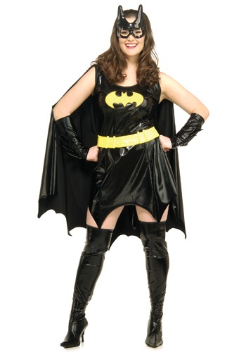 Click Here to buy Plus Size Adult Batgirl Costume from HalloweenCostumes, CDN Funds & Shipping