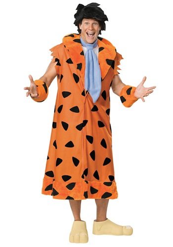 Click Here to buy Fred Flintstone Plus Size Costume from HalloweenCostumes, CDN Funds & Shipping