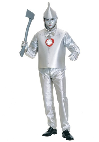 Click Here to buy Plus Size Tin Man Costume 1X | Wizard Of OZ Costume from HalloweenCostumes, CDN Funds & Shipping