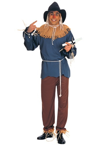 Click Here to buy Plus Size Scarecrow Costume from HalloweenCostumes, CDN Funds