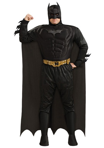 Mens Plus Size Batman Costume | Superhero Costume