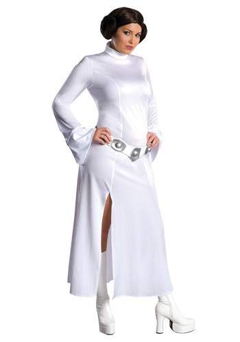 Click Here to buy Plus Size Princess Leia Costume from HalloweenCostumes, CDN Funds & Shipping