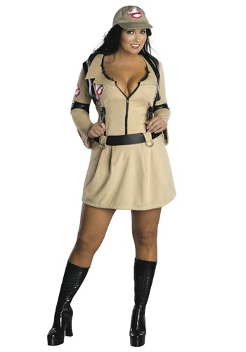 Click Here to buy Plus Size Sexy Ghostbusters Costume - Adult Ghostbuster Costumes from HalloweenCostumes, CDN Funds & Shipping