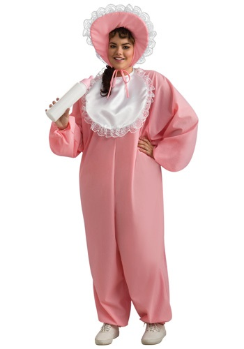 Click Here to buy Adult Baby Girl Plus Size Costume from HalloweenCostumes, CDN Funds & Shipping