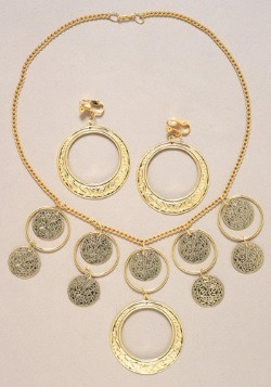 Womens Fortune Teller Jewelry Set