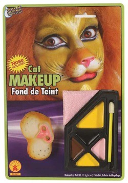 Lion Face Makeup